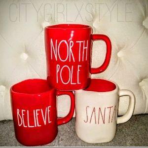 NWT RAE DUNN CHRISTMAS NORTH POLE MUG